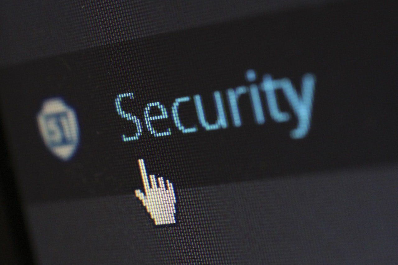 website-security-hand